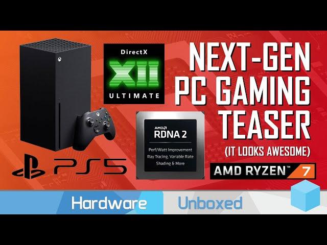 News Corner | PS5, Xbox Series X vs PC Hardware, DX12 Ultimate, AMD Demos RDNA2 Ray Tracing