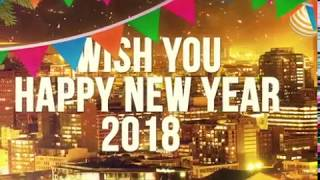 Happy New Year 2018 Wishes 3D Greetings Animated after effect& cinema 4d LookEffect