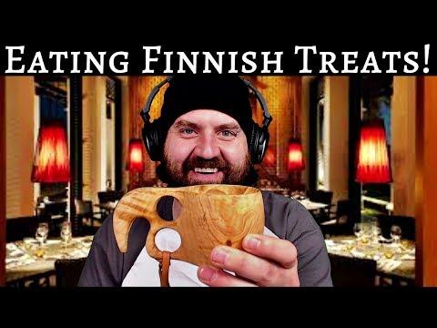 Zeke Tries Finnish Treats!