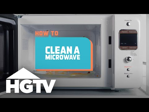 how to keep microwave clean