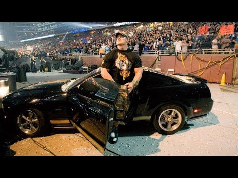 8 Coolest WWE Car Entrances