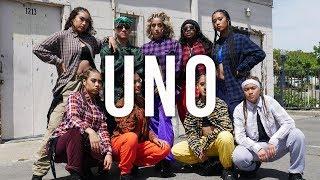 """UNO"" by Ambjaay   Choreography by Naomi B.   Nextkidz"