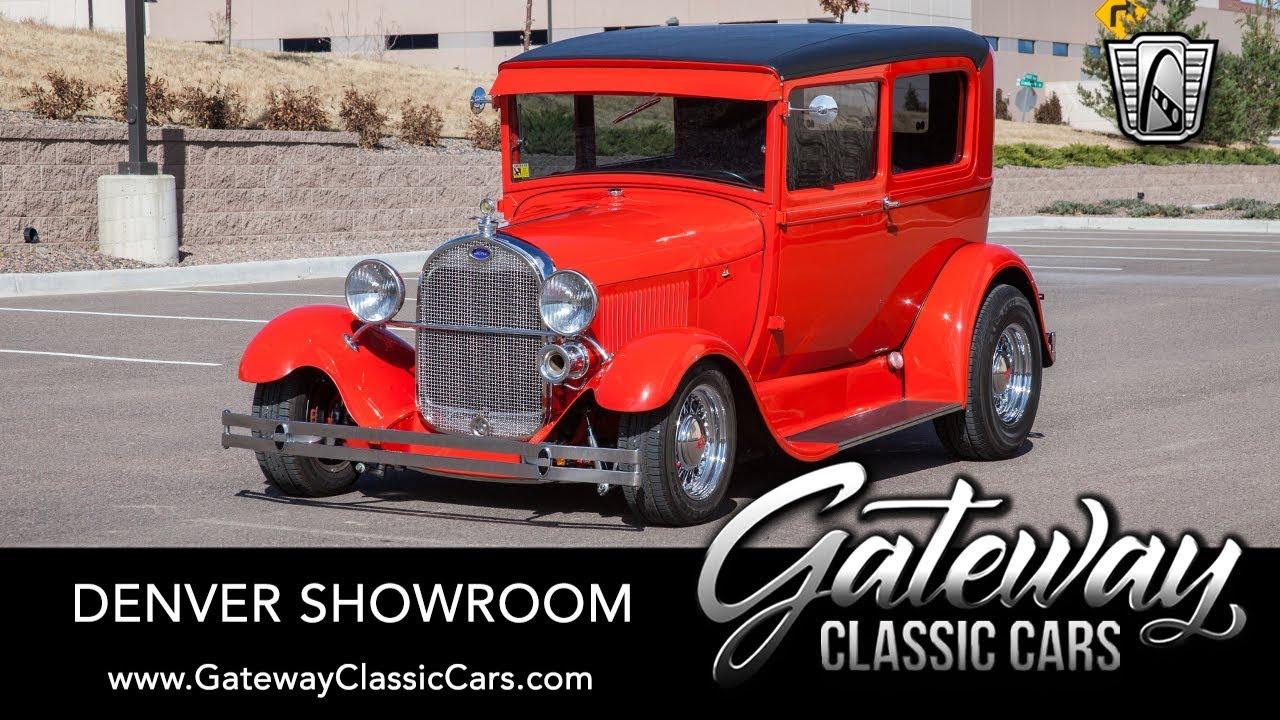 Classic Cars Denver >> 1929 Ford Model A Coupe Gateway Classic Cars Denver 668