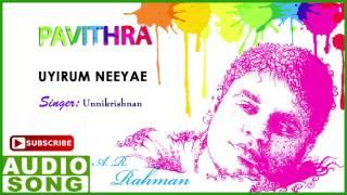 Uyirum Neeyae Song | Pavithra Tamil Movie Songs | Ajith | Radhika | AR Rahman | Music Master