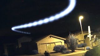 UFOs Caught On Home Security Cameras! Mysterious Objects Caught On Surveillance Cameras