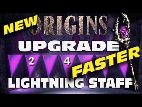 """How to UPGRADE THE LIGHTNING STAFF"" Origins UPDATED TUTORIAL ""Black Ops 2 Origins"""