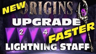 """How to UPGRADE THE LIGHTNING STAFF"" Origins UPDATED TUTORIAL ""Black Ops 2 Origins"""