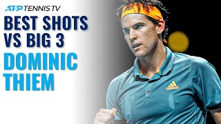Dominic Thiem Amazing Shots & Rallies vs The Big Three!