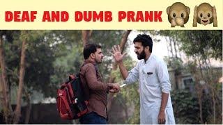 Angry Deaf And Dumb Prank | Part 2 | Haris Awan