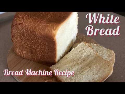 How to make White Bread: Bread Machine Recipe