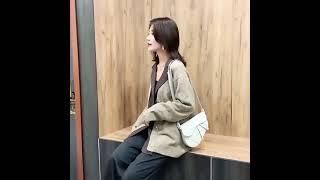 가죽공예 크로스백 미니가방 집콕 취미생활 가방만들기