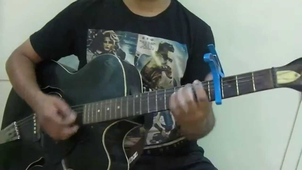 Jeena Jeena - Atif Aslam - Badlapur - Guitar Chord Melody Version - YouTube
