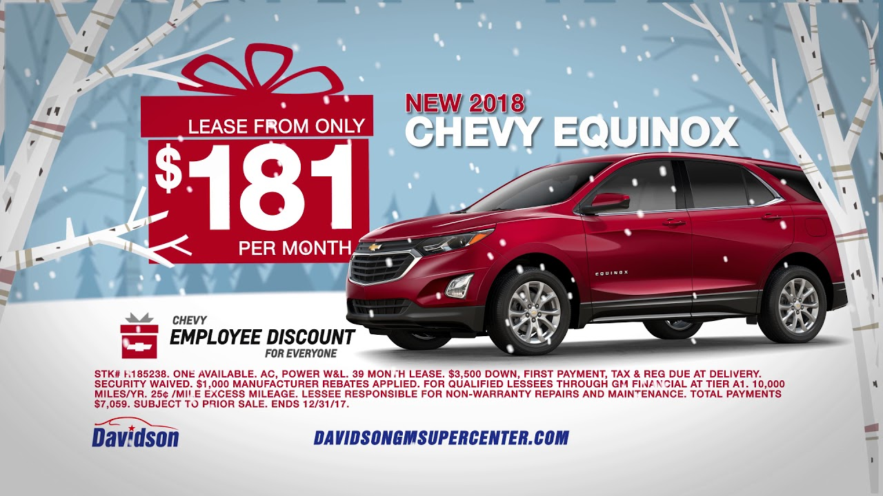 santa 39 s employee discounts on chevy equinox youtube. Black Bedroom Furniture Sets. Home Design Ideas