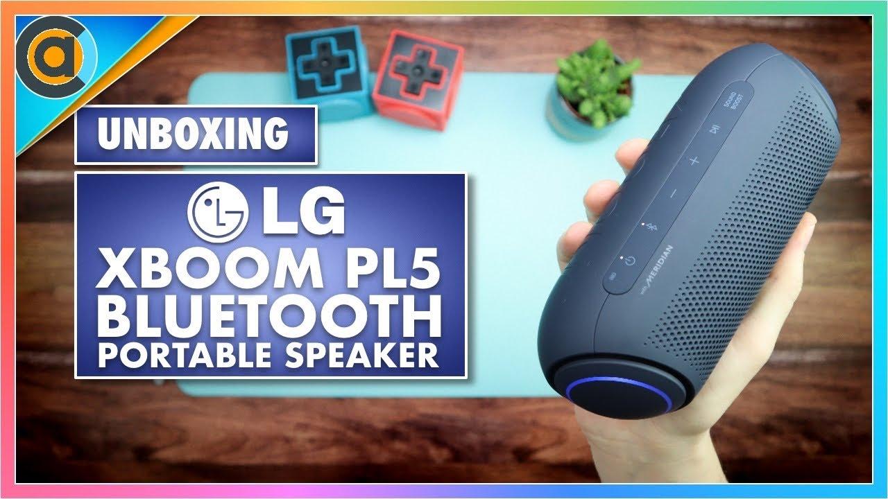 UNBOXING: LG XBoom PL5 Bluetooth Portable Speaker