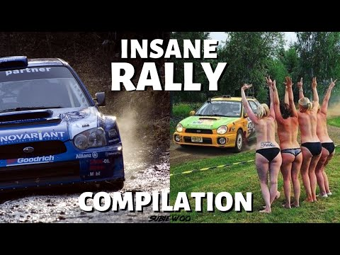 "INSANE SUBARU ""RALLY MOMENTS"" COMPILATION"