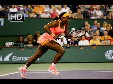 ᴴᴰ*Serena Williams vs Zarina Diyas*Indian Wells 2015*Highlights