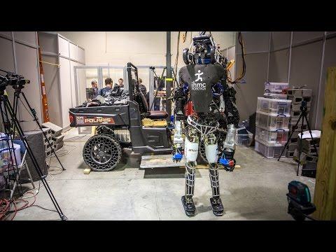 DARPA Robotics Challenge: Team IHMC's Atlas Robot