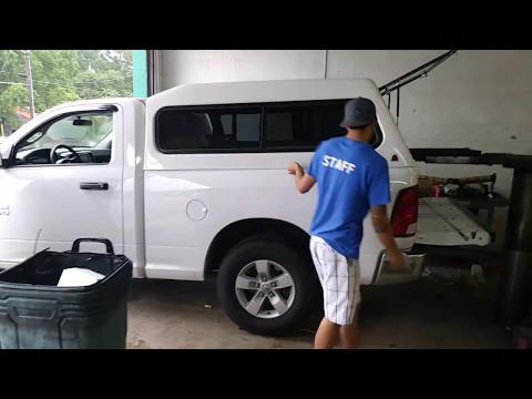 Truck Camper Top Installation!!!