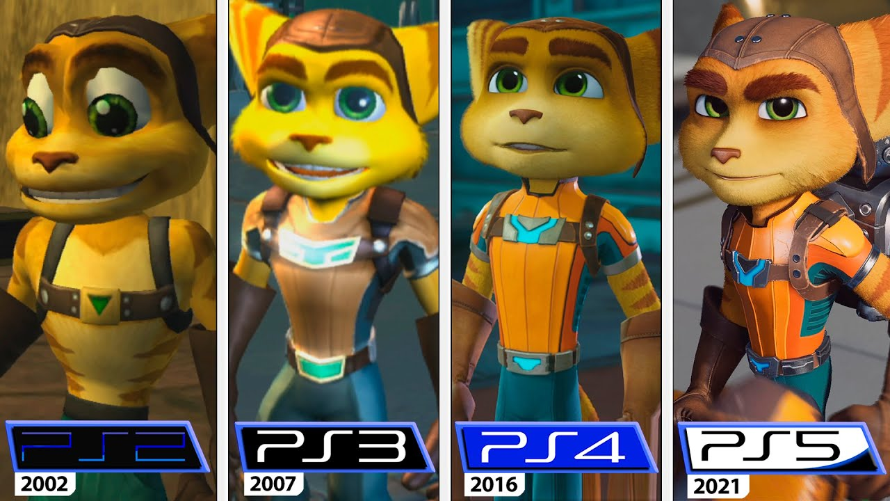 Ratchet & Clank | PS2 - PS3 - PS4 - PS5 | 2002 - 2021 Graphics Evolution