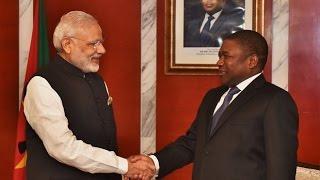 Africa Visit Aimed At Enhancing Ties Says PM Modi | Full Speech