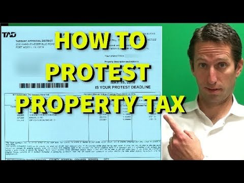 How To Protest Property Tax In Tarrant County & WIN! [2019]