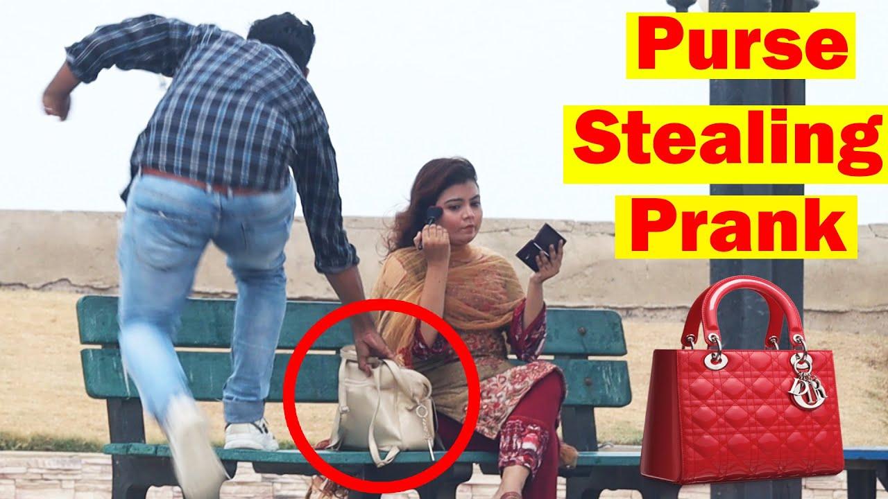 Stealing Girl's Purse Prank Part 2   Pranks In Pakistan   Humanitarians