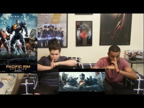 Pacific Rim: Uprising – Official Trailer 2 – REACTION!