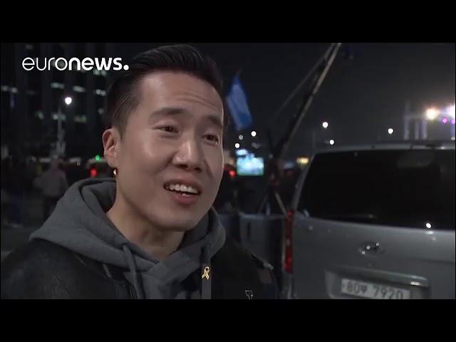Corée du Sud manifestation géante contre la présidente