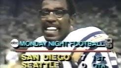 1981 -  Week 11 - Seattle Seahawks - San Diego Chargers