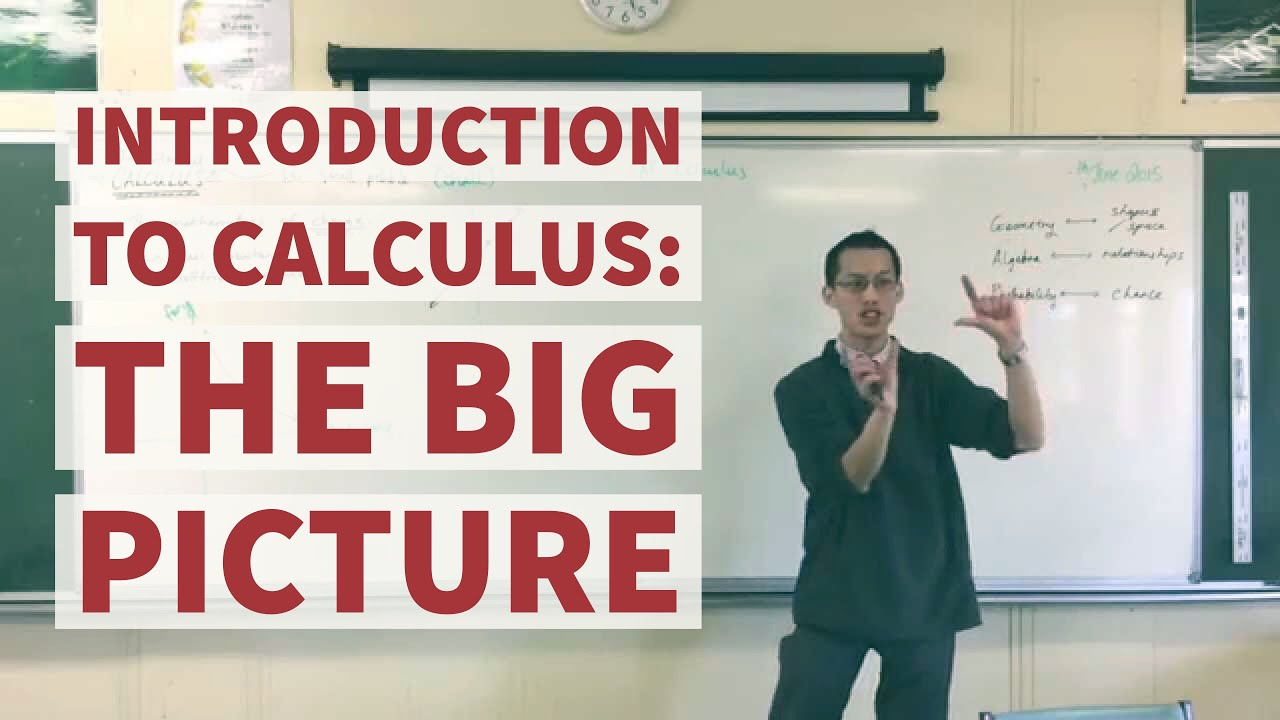 Introduction to Calculus (1 of 2: Seeing the big picture)