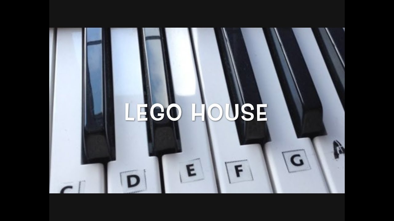 How to play lego house on the keyboard a tutorial for beginners how to play lego house on the keyboard a tutorial for beginners hexwebz Images