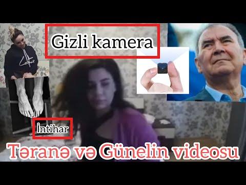 Gunel Hesenli Terane Semedova intim videosu | Gunelin intihar xeberi | Aciqlama