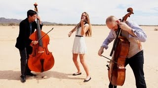 Repeat youtube video Rolling in the Deep - Adele (violin/cello/bass cover) - Simply Three
