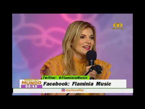 Presentación musical de Flaminia
