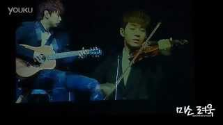 130302 Love is Sweet+U+Sorry Sorry(Instrumental)- SJ-M Band @Shanghai FM {CloserFc}