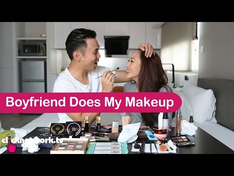 Boyfriend Does My Makeup  Tried and Tested: EP47