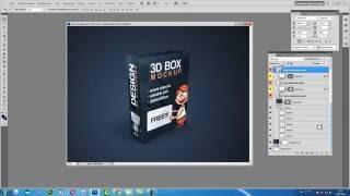 Как отредактировать 3D коробку мокап
