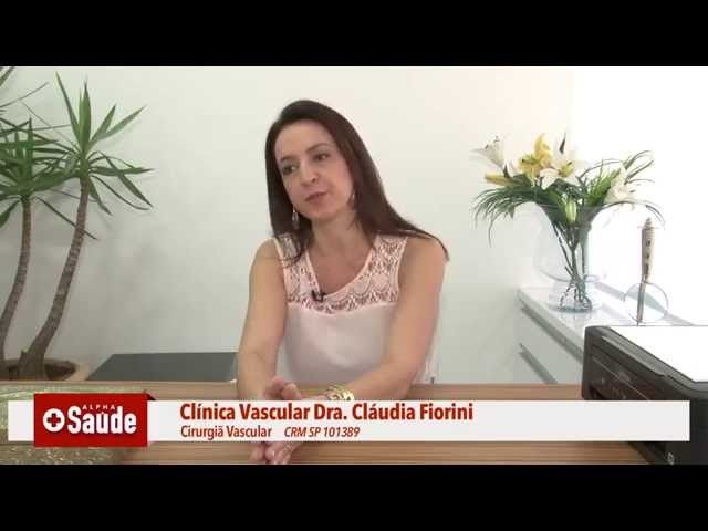 ALPHA SAÚDE - CLÁUDIA FiORINI - CIRURGIÃ VASCULAR 03/08/2015