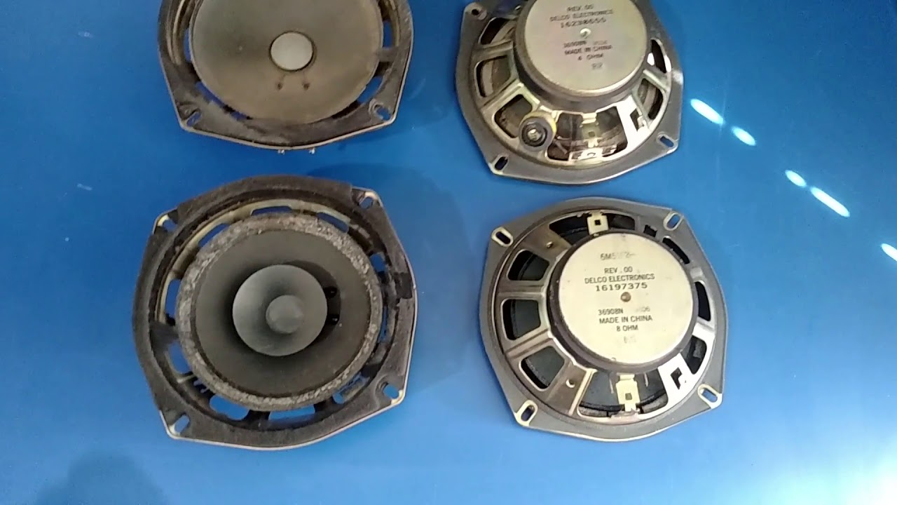 medium resolution of 96 chevy astro van speaker upgrade alpine sxe 1725s