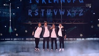 Britain's Got Talent 2019 Live Finals 4MG Magical Boyband Full Clip S13E19