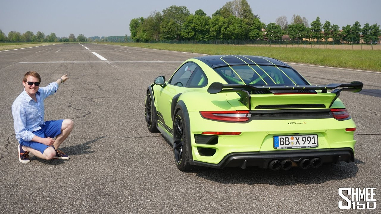 THIS is Launch Control! 0-62mph in 2.5s with the TechArt GT Street R