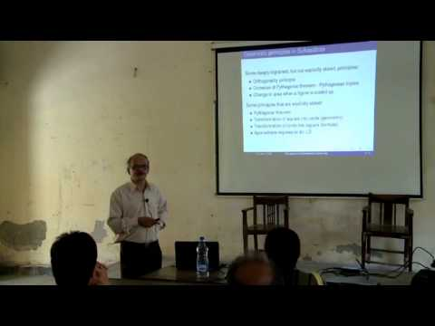 Prof. S.G. Dani - The trajectory of Indian Mathematics over time (C&W talk)