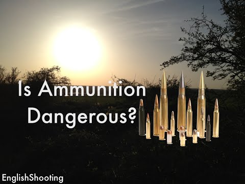 Are Single Rounds of Ammunition Dangerous on their Own?