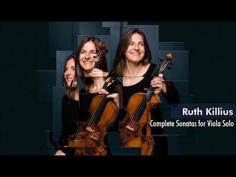 Hindemith Complete Sonatas for Viola Solo, by Ruth Killius