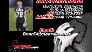 Ian Barret Martin - Sophomore Season Footage