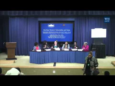 White House Panel: Equity for Women In Hip Hop