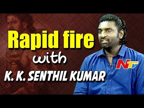 Baahubali Characters & Favourite Scenes of DOP Senthil Kumar || Exclusive Interview || NTV