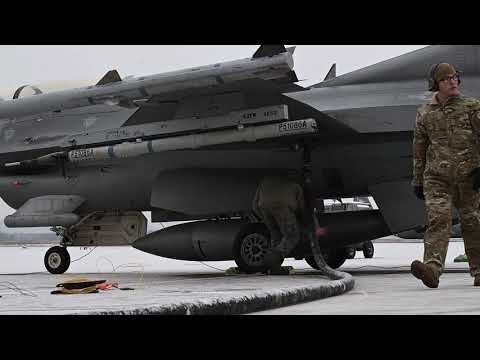 Two F-16 fighter