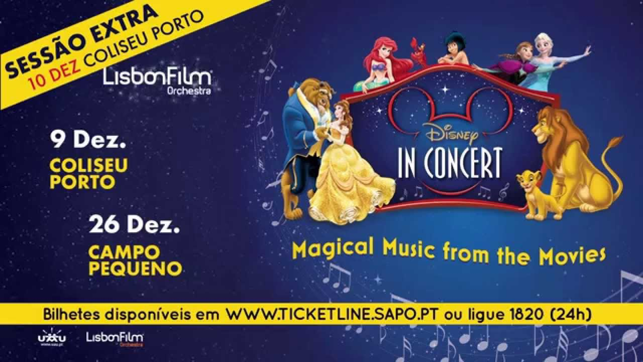 Disney In Concert Magical Music From The Movies Youtube