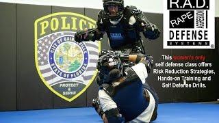 Gainesville Police Rape Aggression Defense (RAD) Class